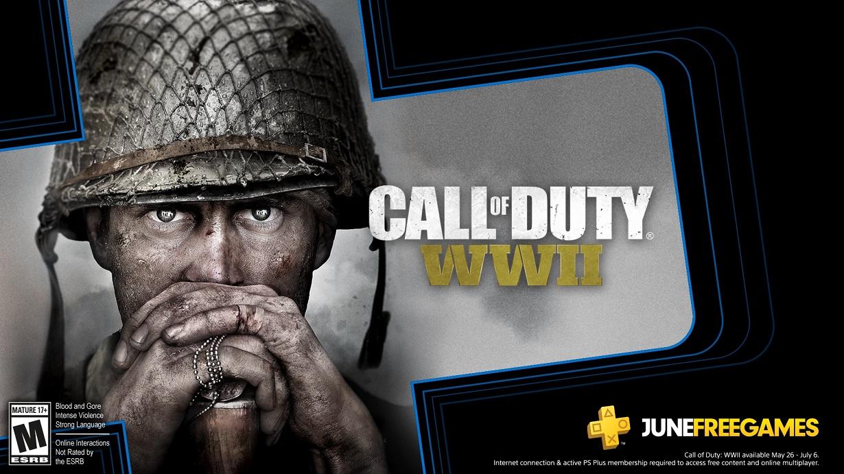 Call of Duty WWII v červnové nabídce PS Plus