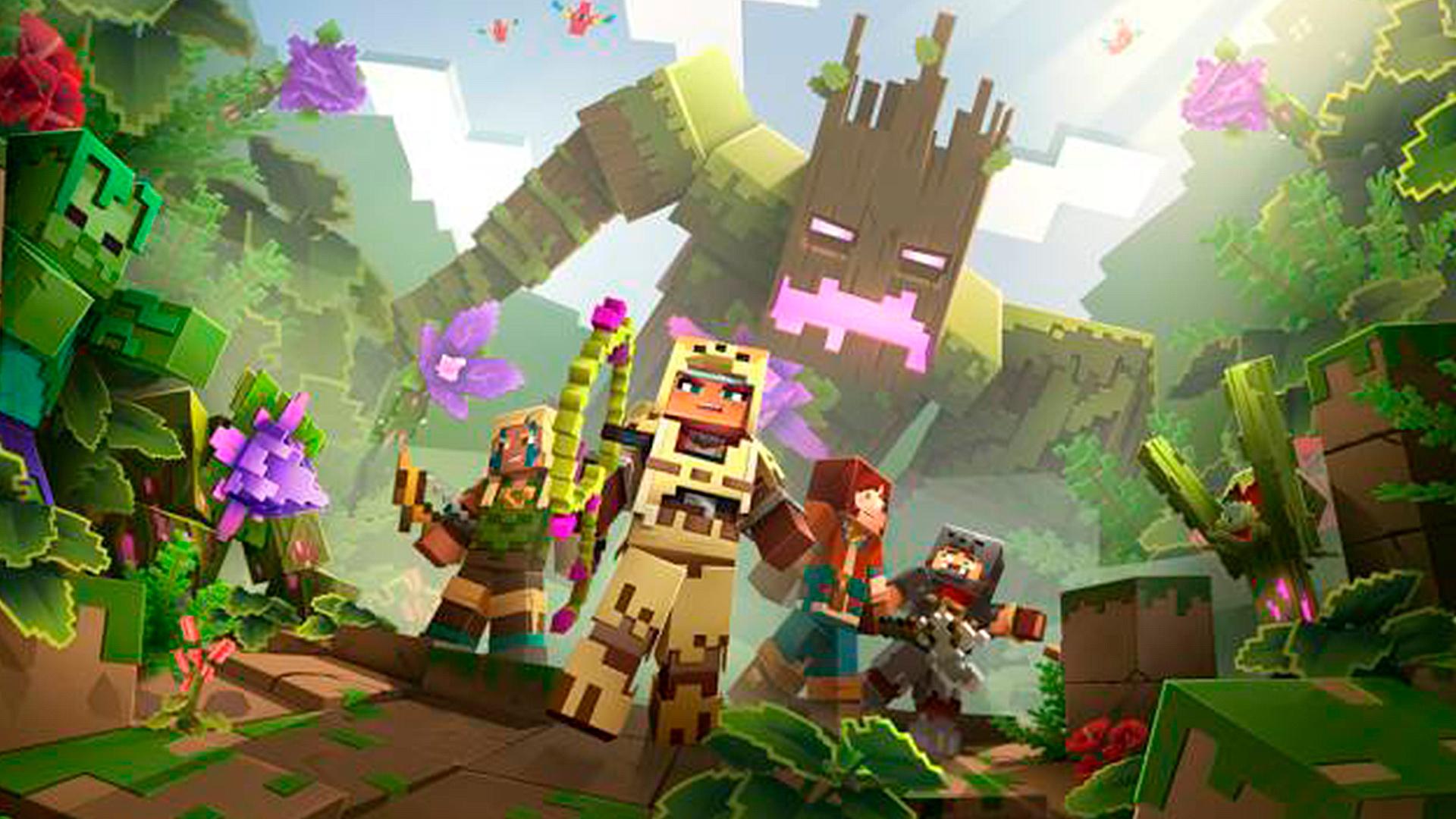 Minecraft Dungeons dostane příští měsíc první rozšíření