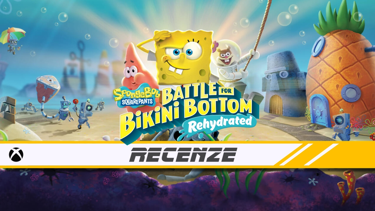 SpongeBob SquarePants: Battle for Bikini Bottom – Rehydrated – Recenze