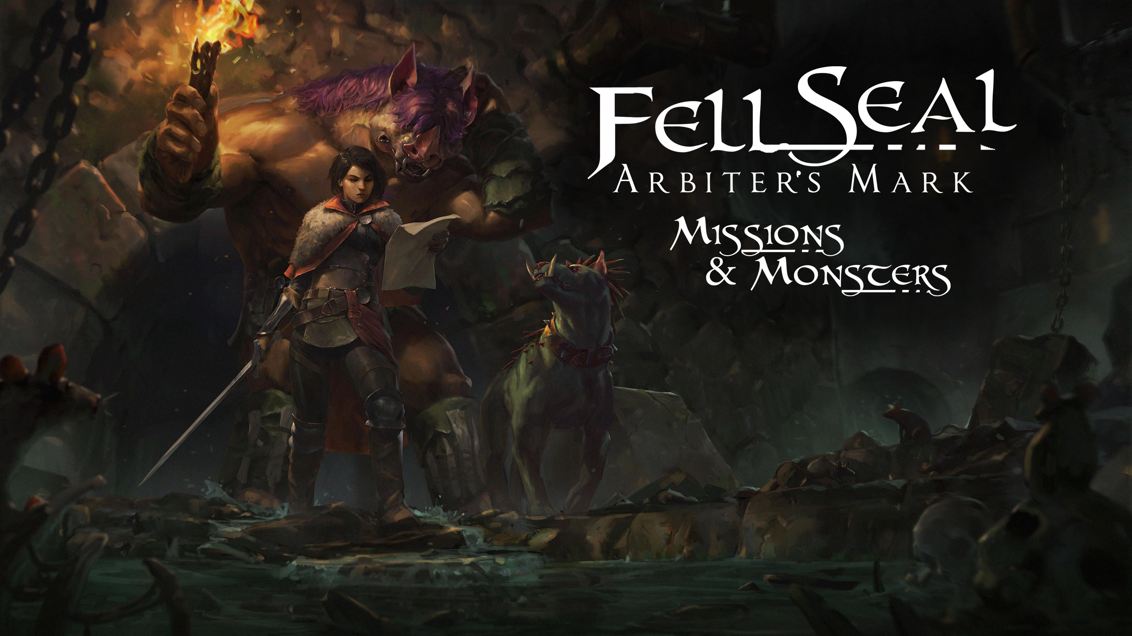 Tahové RPG Fell Seal: Arbiter's Mark dostává velké DLC Missions and Monsters