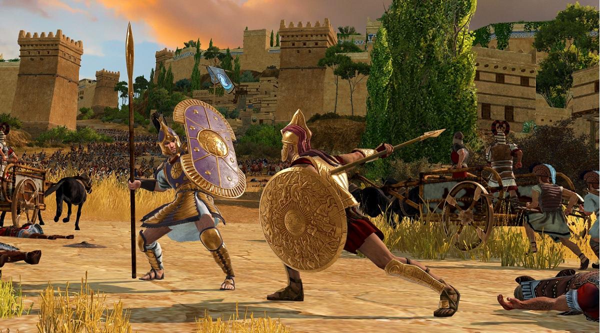 Total War Saga: Troy se ukazuje v nových záběrech, bude první den zdarma