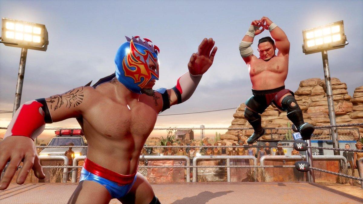 WWE 2K Battlegrounds dostalo datum vydání