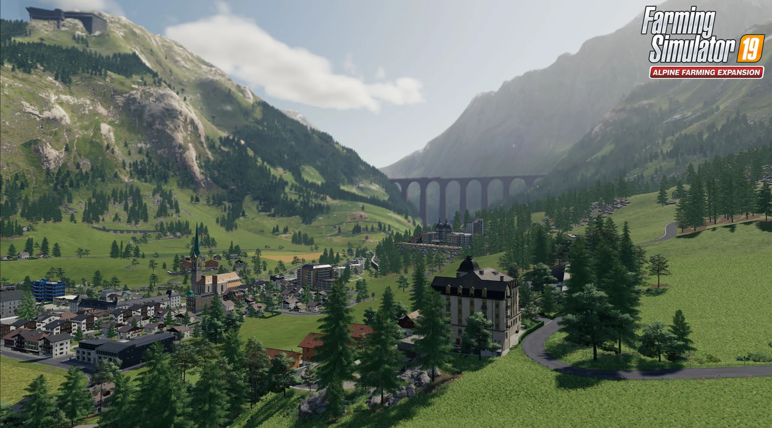 Do Farming Simulator 19 zavítá velké rozšíření Alpine Farming