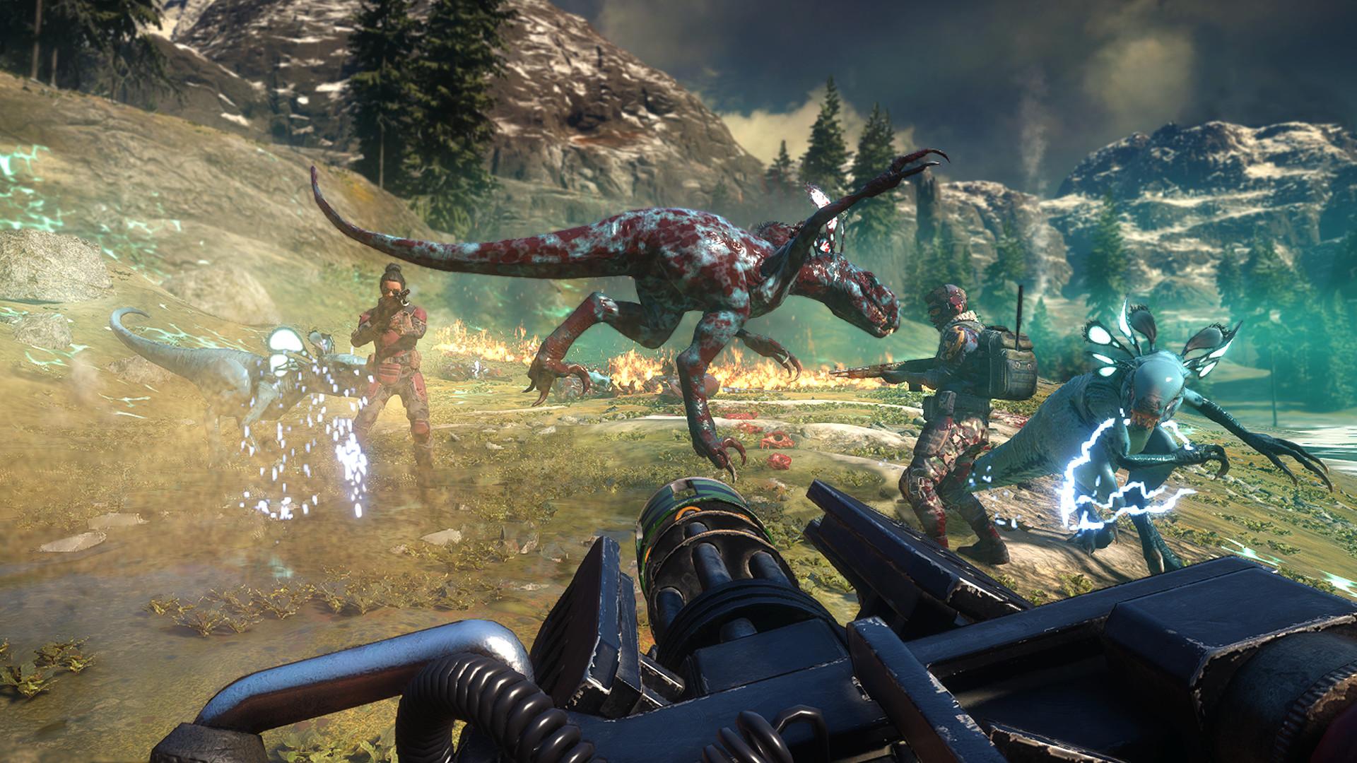 Kooperativní akce Second Extinction se ukazuje v novém traileru, PC Early Access už v září