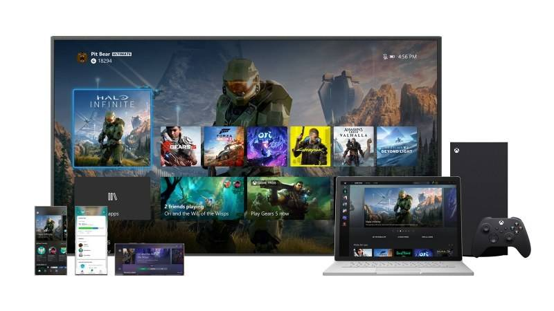 Představeno nové uživatelské rozhraní pro zařízení Xbox