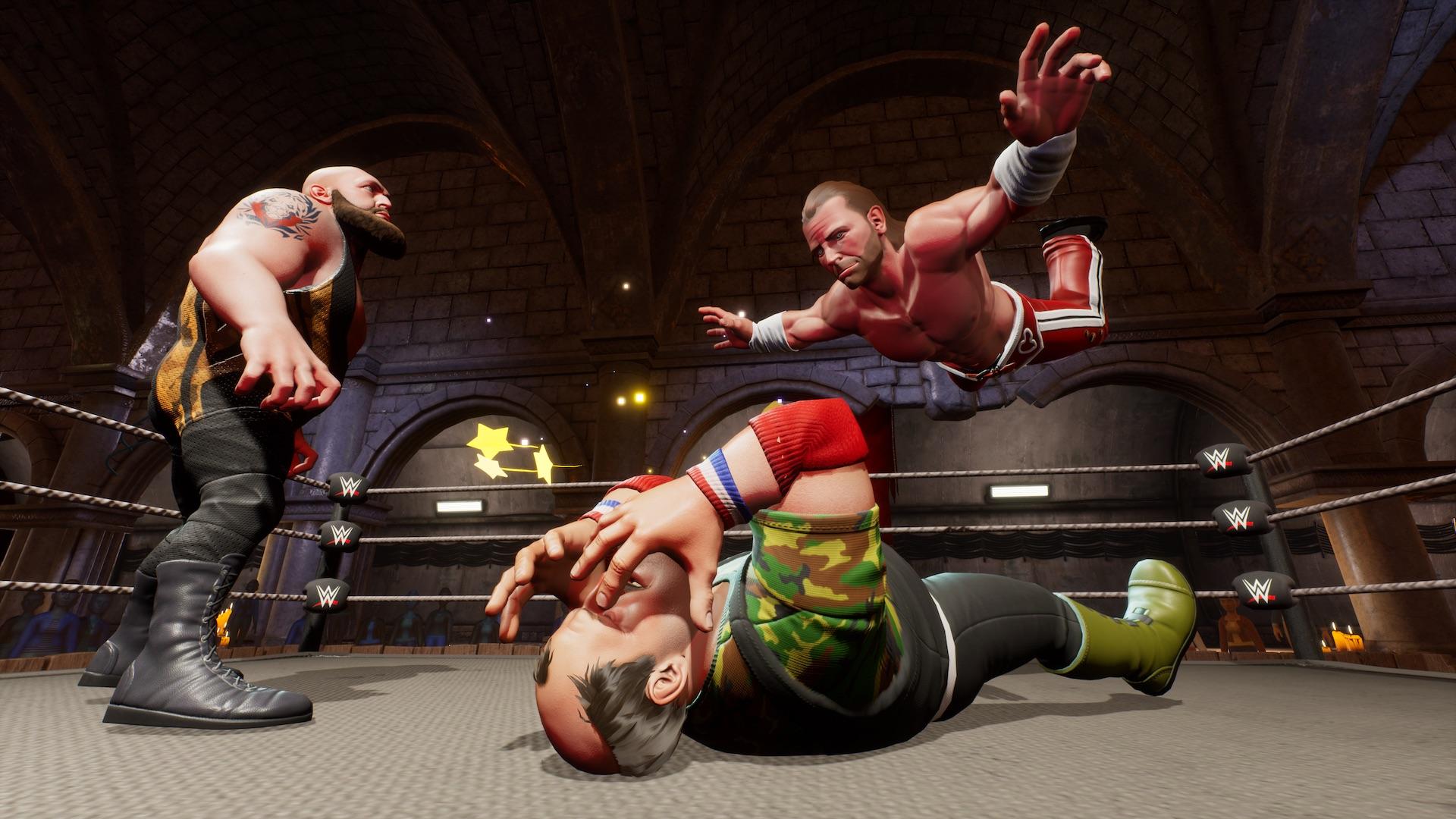 WWE 2K Battlegrounds představuje herní režimy