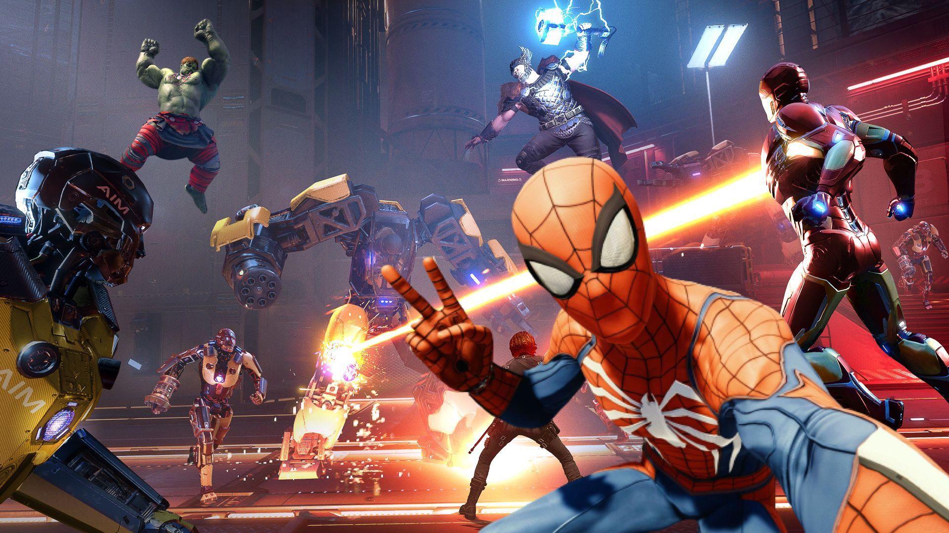 Spider-man zamíří do hry Marvel's Avengers, ale pouze na konzolích Playstation