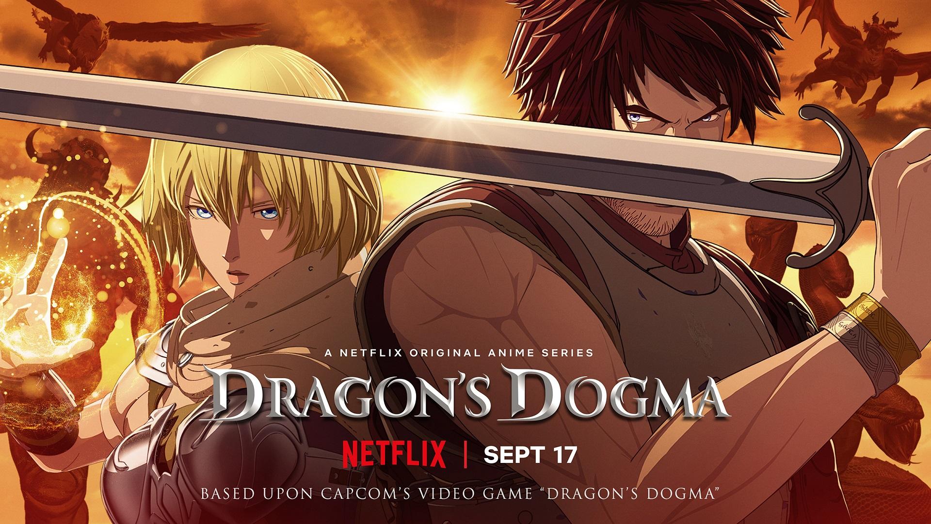 Animovaný seriál Dragon's Dogma má první trailer