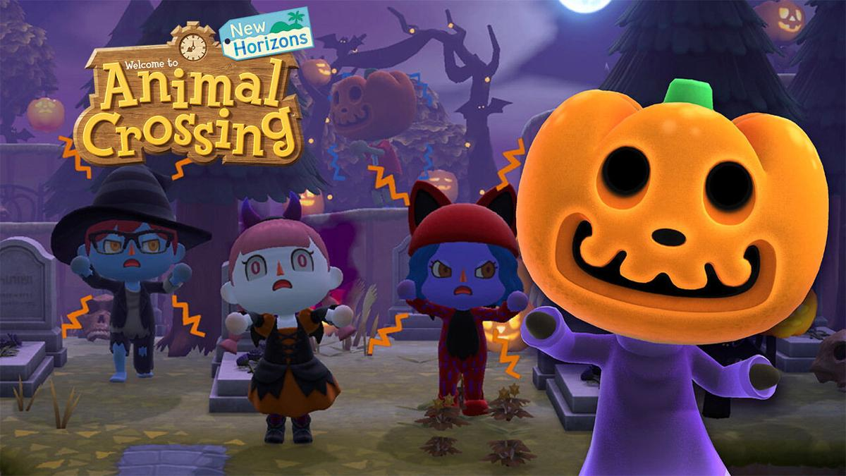 Do Animal Crossing: New Horizons míří Halloweenský update