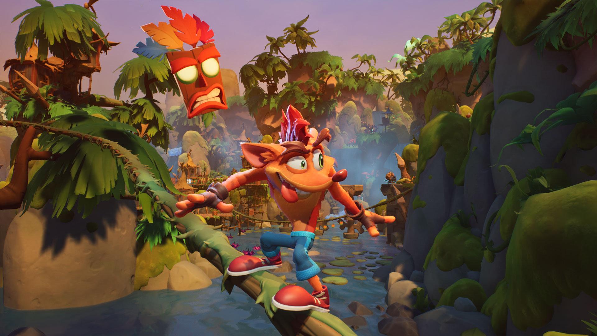 Crash Bandicoot 4: It's About Time dostal launch trailer