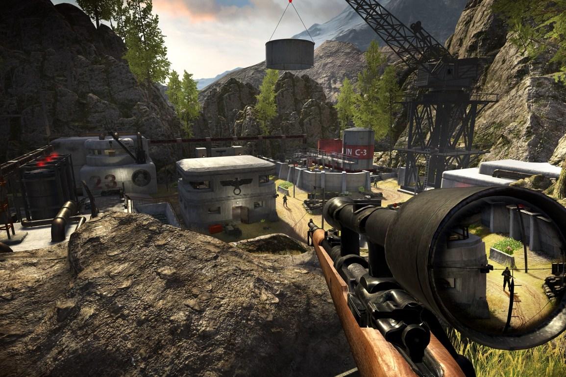 Sniper Elite VR v gameplay záběrech a s novými informacemi