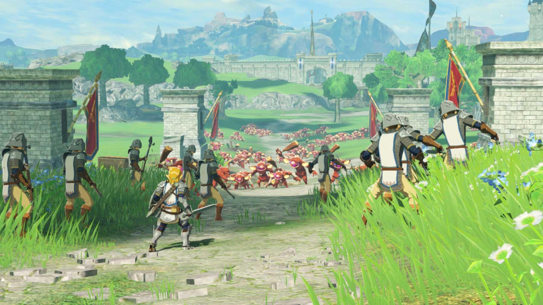 Hyrule Warriors: Age of Calamity se hlásí s novým trailerem