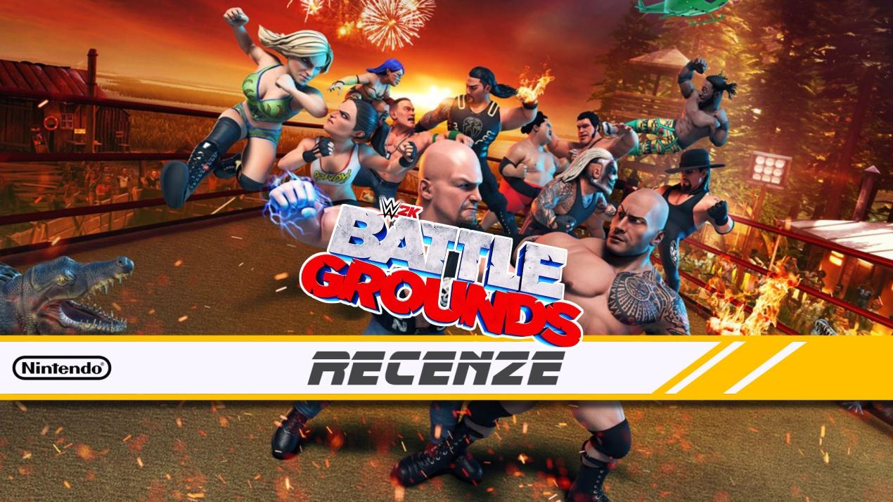 WWE 2K Battlegrounds – Recenze