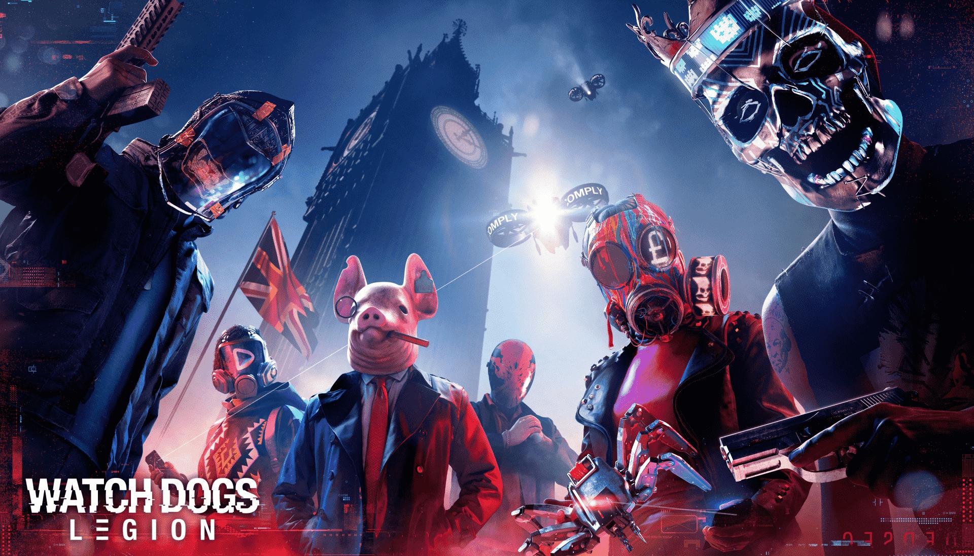 Ubisoft nás láká novým trailer na Watch Dogs: Legion
