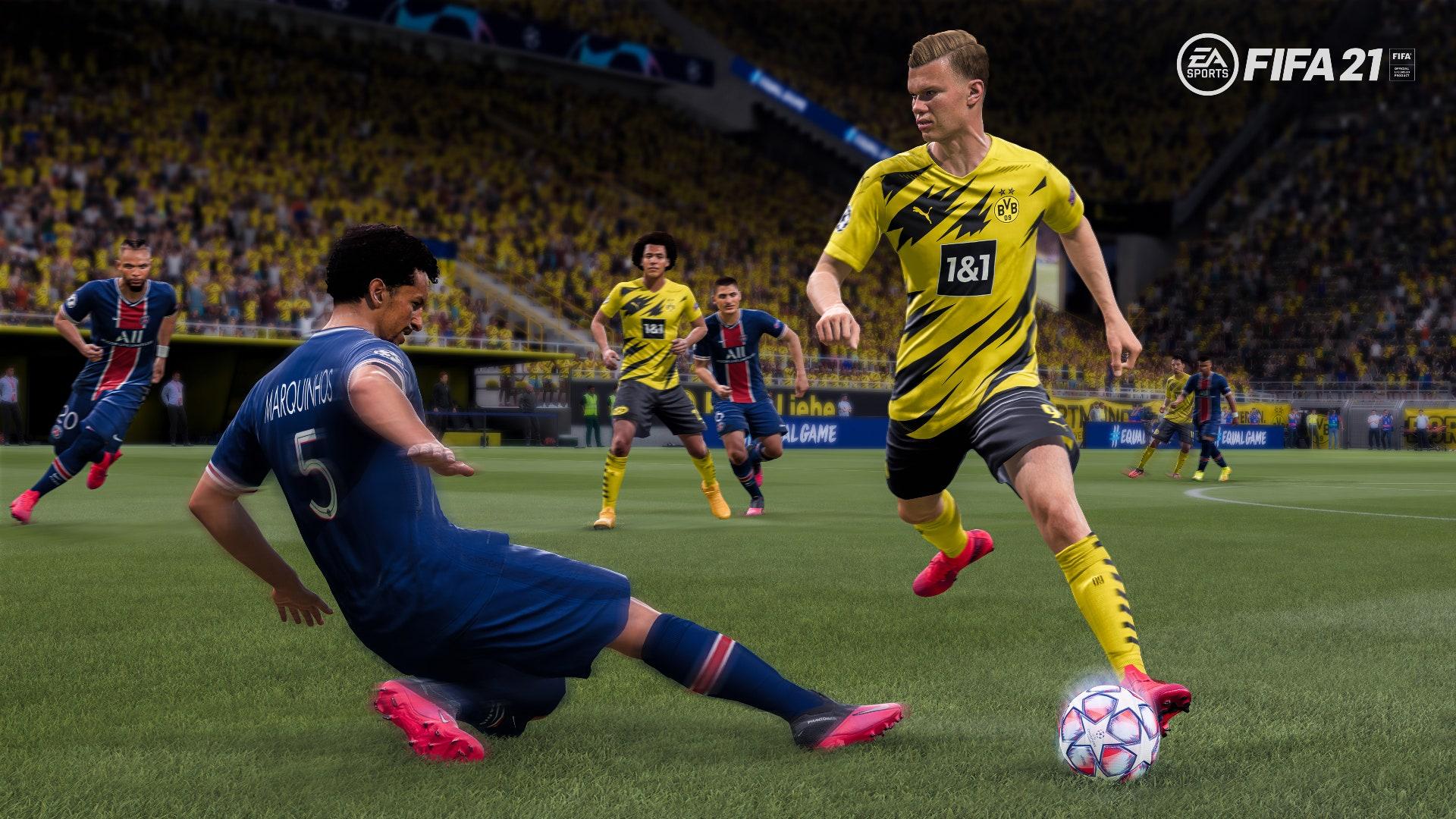 Next-gen verze FIFA 21 se ukazuje v prvních obrázcích