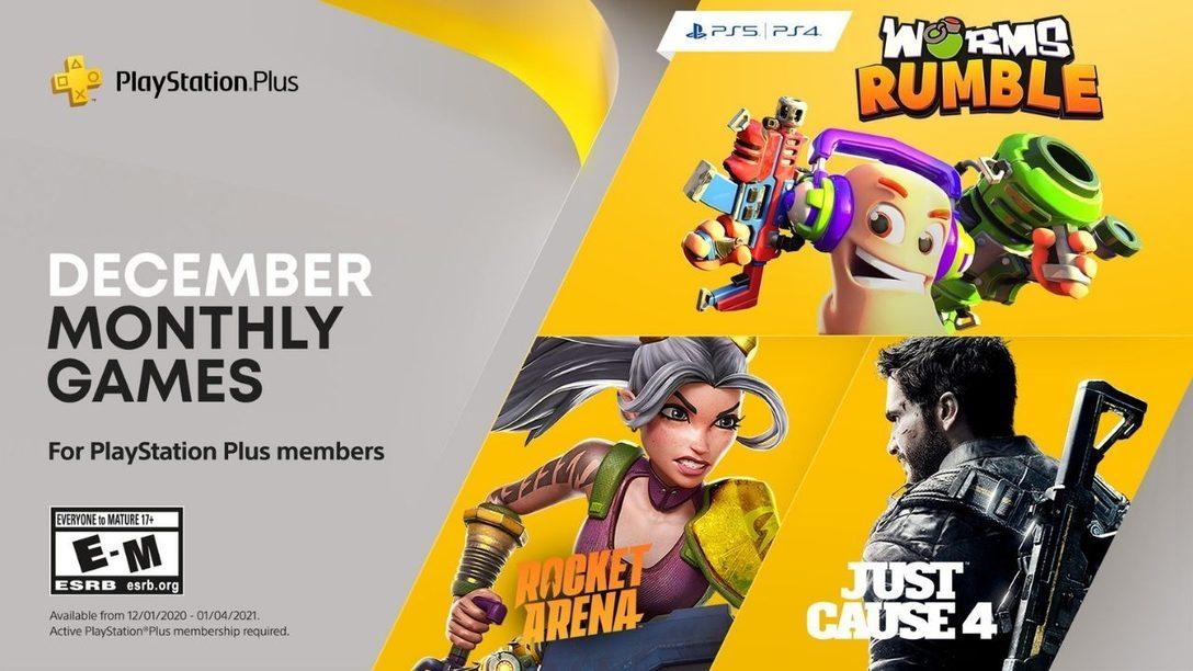 Oznámeny prosincové hry programu Playstation Plus (2020)