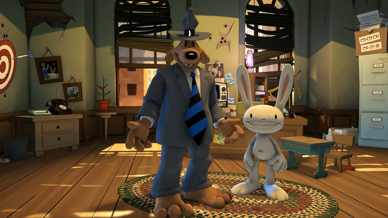 Oznámena adventura Sam & Max: Save the World Remastered pro PC a Switch