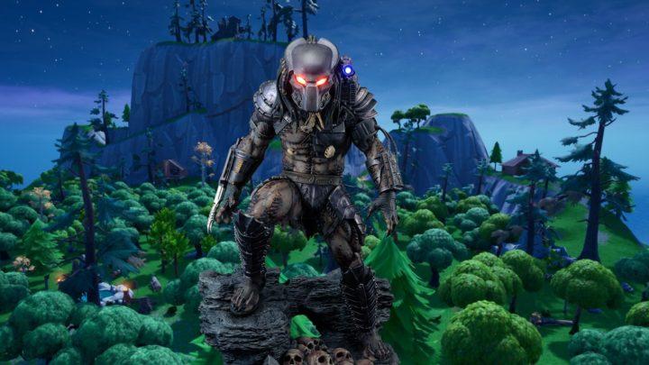 Predátor se vydal na lov do Fortnite
