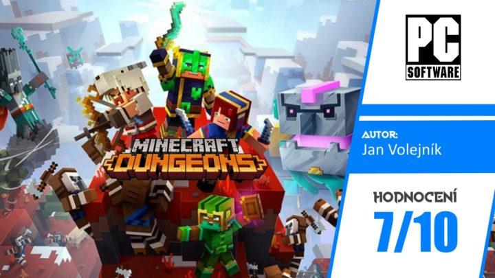 Minecraft Dungeons + DLC Howling Peaks – Recenze