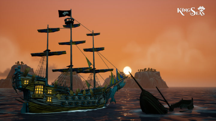 Pirátské RPG King of Seas má datum vydání