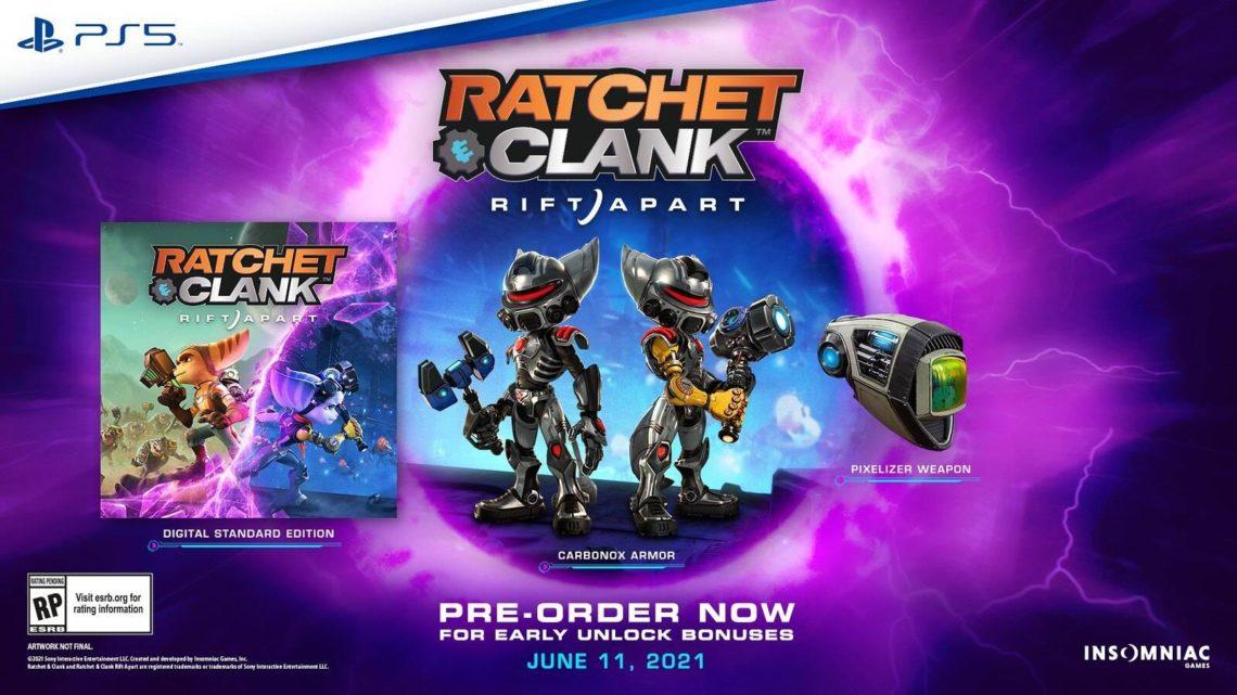 Hra Ratchet & Clank: Rift Apart dostala datum vydání