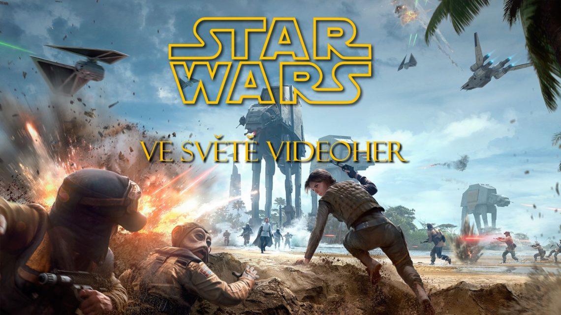 Universum Star Wars ve světě videoher