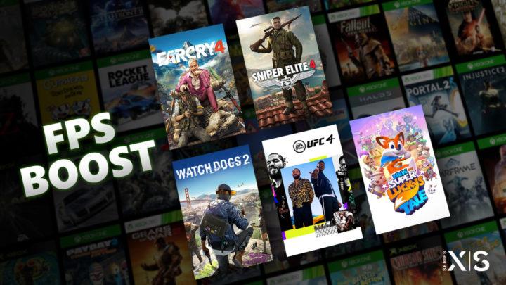 Představena funkce FPS Boost pro konzole Xbox Series
