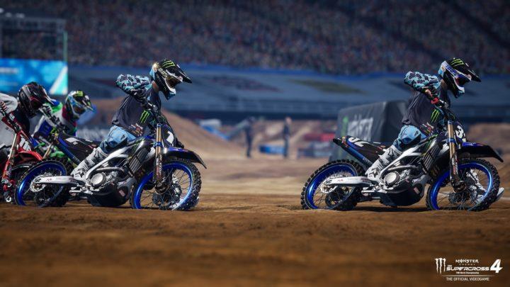 Monster Energy Supercross 4 se chlubí novým trailerem a předobjednávkovým bonusem