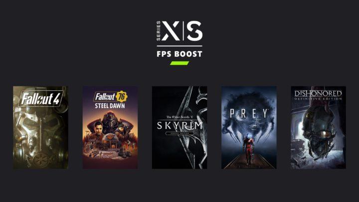 Některé hry od Bethesdy se dočkají na Xbox Series FPS boostu