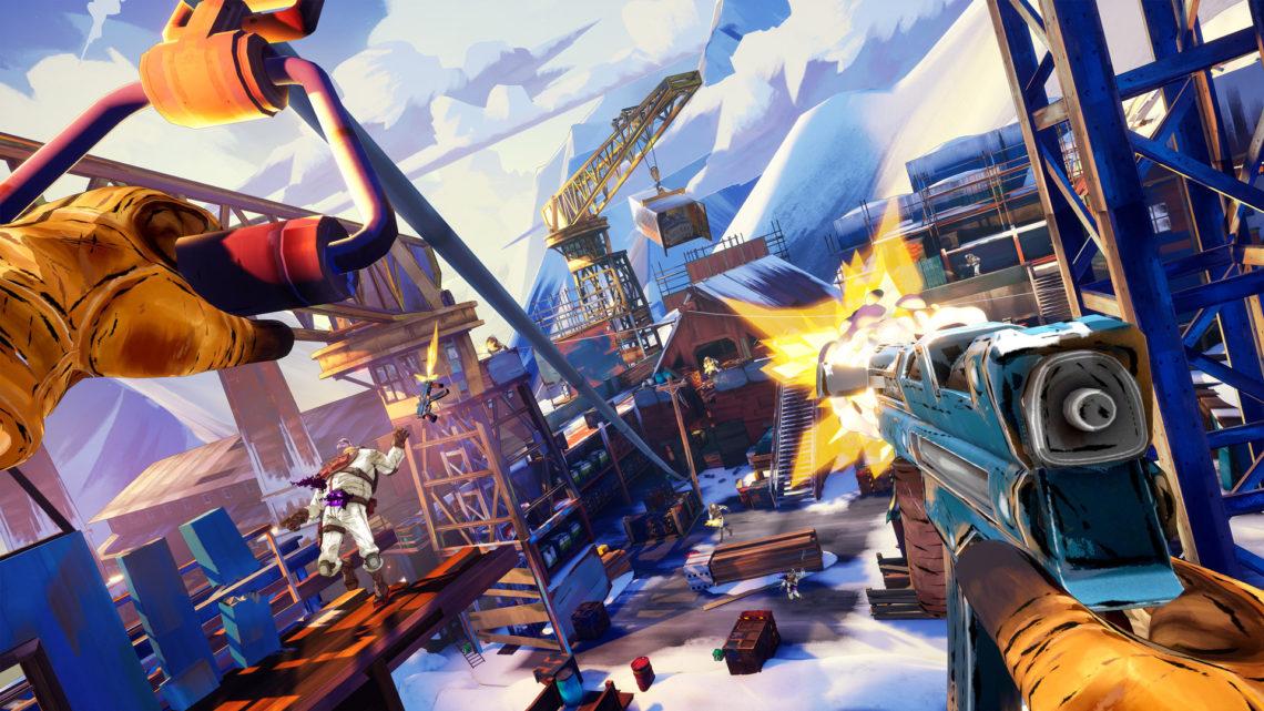 Oznámena akční adventura Fracked pro PS VR