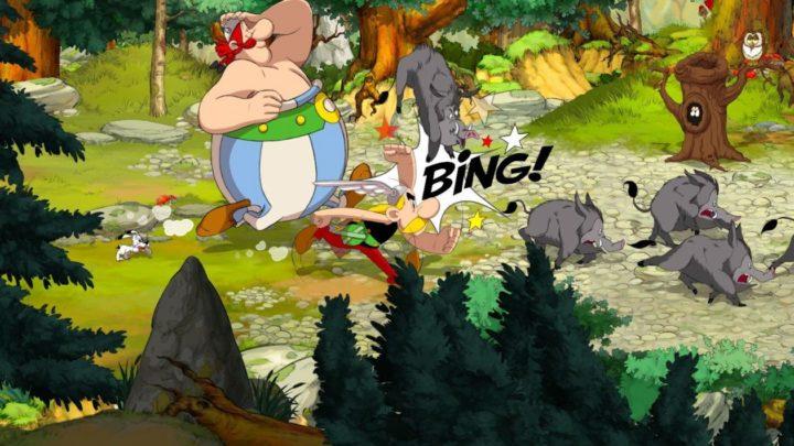 Oznámena side-scroll adventura Asterix & Obelix: Slap Them All!
