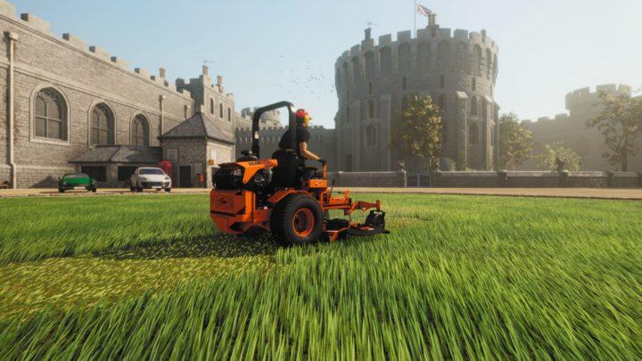 Oznámen simulátor sekaček Lawn Mowing Simulator
