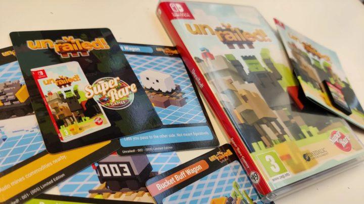 Unrailed Limited Edition vyjde ve fyzické formě na Nintendo Switch