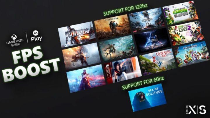 Mnoho her od EA dostalo na konzolích Xbox Series FPS Boost
