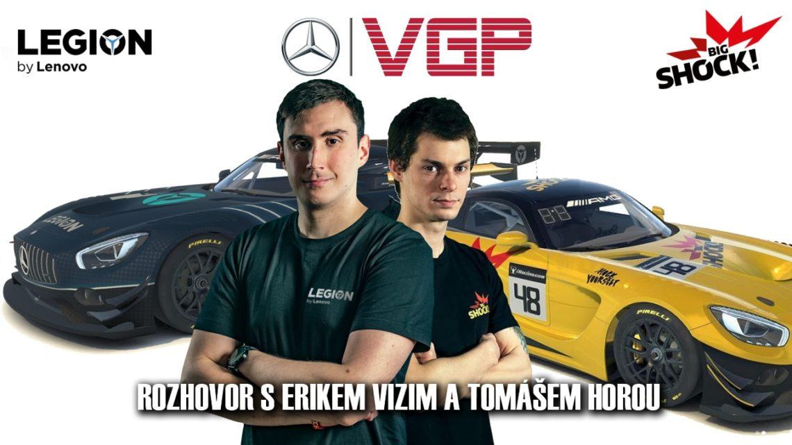 Rozhovor s piloty Virtual GP 2021 Erikem Vizim a Tomášem Horou