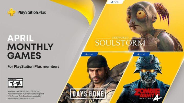 Sony představila dubnové hry v předplatném PS Plus (2021)