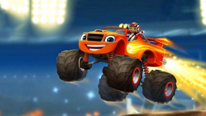 Oznámena závodní hra Blaze and the Monster Machines: Axle City Racers, podle animovaného seriálu