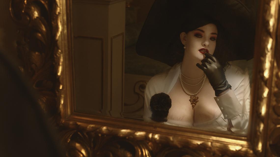 Cenega Czech s.r.o. a čeští cosplayeři dali hlavy dohromady, Resident Evil Village cosplay Lady Dimitrescu a její dcery Daniely vypadá skvěle