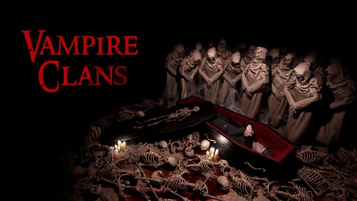 Oznámena nová indie hra s upírskou tématikou Vampire Clans od studia RockGame S.A.