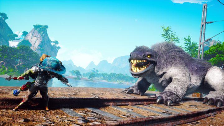 Biomutant v gameplay záběrech z hraní na XSX a PS5