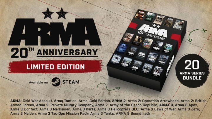 Legendární série Arma slaví 20. narozeniny