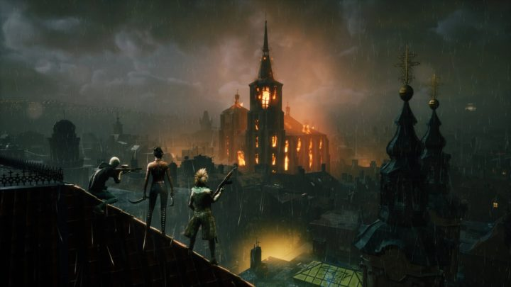 Uzavřená alpha pro Vampire the Masquerade: Bloodhunt skončila