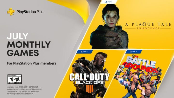 Představena červencová nabídka PS Plus (2021)