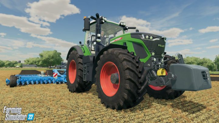 Farming Simulator 22 demonstruje paralaxní okluzní mapování a Sběratelskou edici