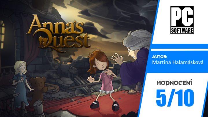 Anna's Quest – Recenze