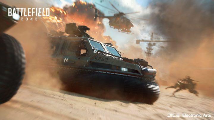 Oznámena otevřená beta Battlefield 2042