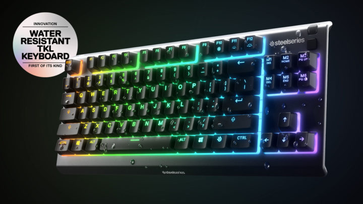 PR: Představena Voděodolná klávesnice SteelSeries Apex 3 TKL