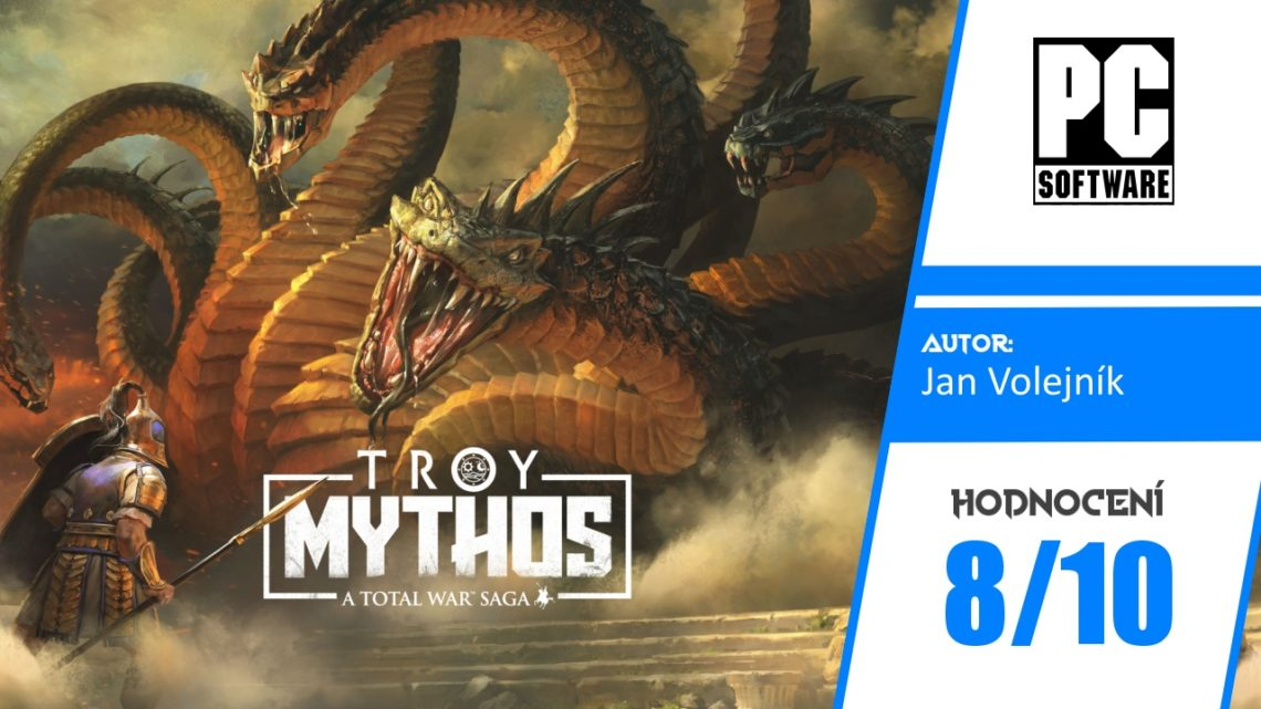 Total War Saga: Troy + DLC Mythos – Recenze