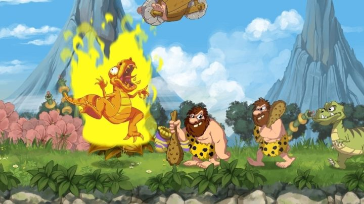 Oznámen remake automatovky Joe & Mac: Caveman Ninja