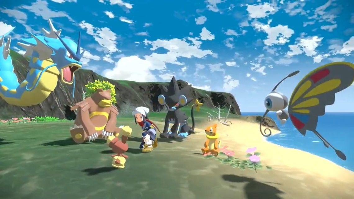 Pokémon Legends: Arceus nenabídne jeden velký otevřený svět jak se zdálo